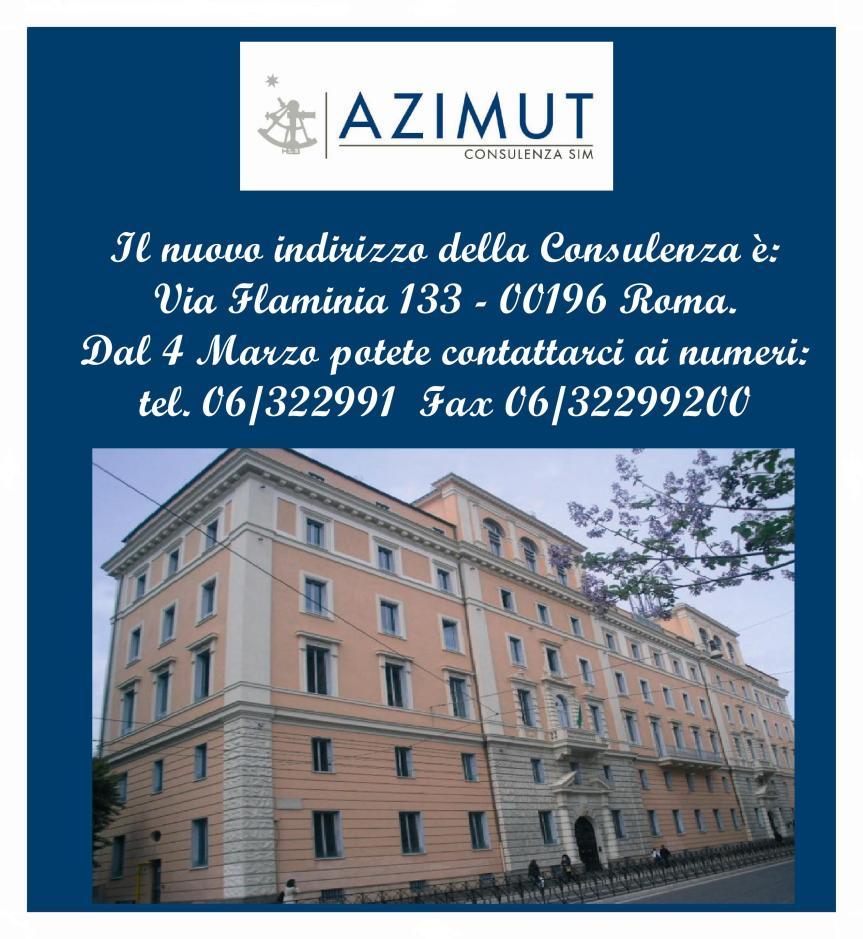 Nuova Sede Azimut Consulenza - Roma
