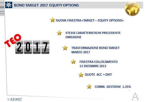Bond Target 2017 Equity Options