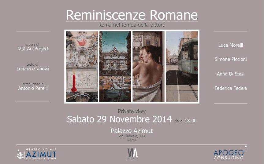 Invito_private-view_Sabato-29-Novembre-2014_Reminiscenze-Romane