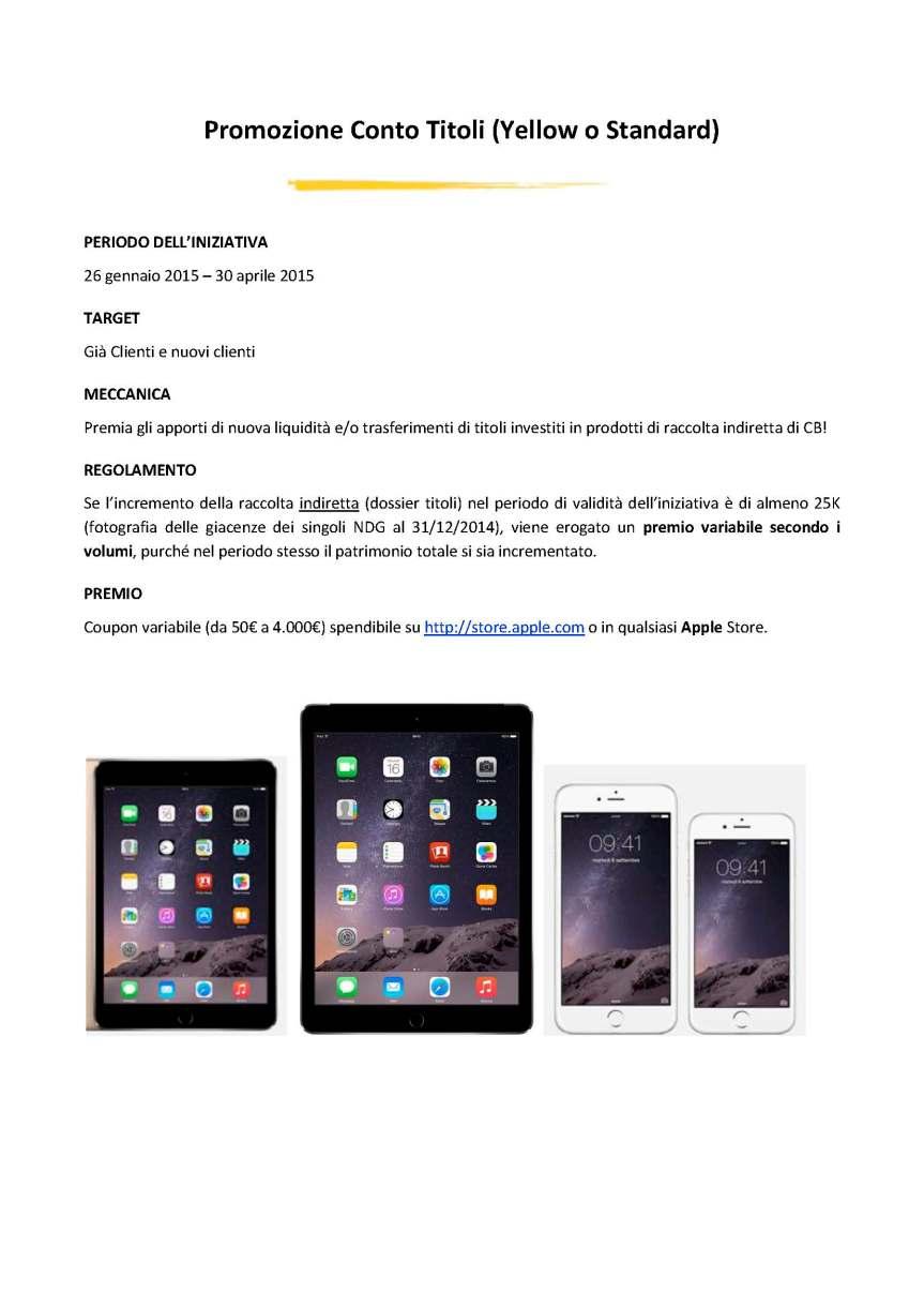 Promozioni CheBanca_26 gennaio_Pagina_2