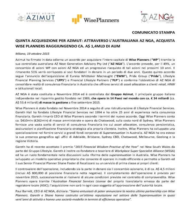 Quinta acquisizione Azimut in Australia_Pagina_1
