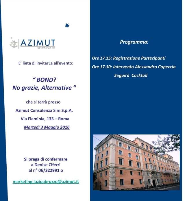 Pagine da Invito 3 maggio 2016 - Roma